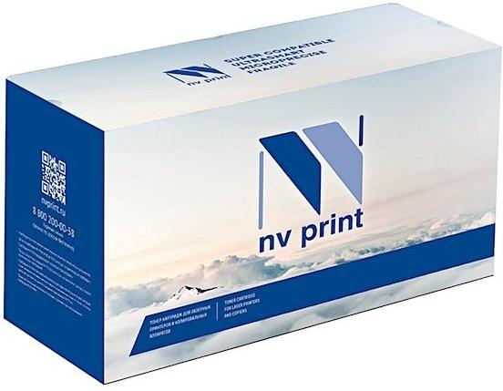 Картридж совместимый NVP TK-865 C голубой для Kyocera