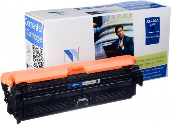 Картридж совместимый NV Print CE740A Черный для HP