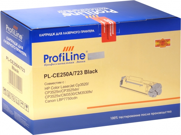 Картридж совместимый ProfiLine CE250A/723 для HP