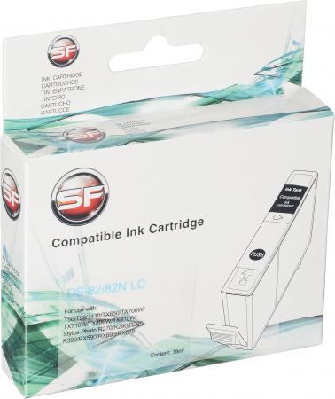 Картридж совместимый SuperFine T0825 светло голубой для Epson