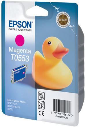 Картридж EPSON T055340 пурпурный оригинальный
