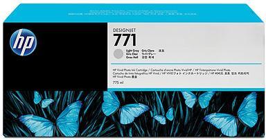 Картридж HP № 771 светло-серый оригинальный