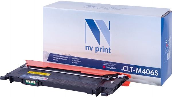 Картридж совместимый NVPrint CLT-M406S для Samsung пурпурный