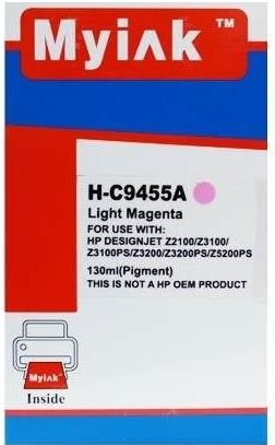Картридж совместимый MyInk С9455А светло красный для HP