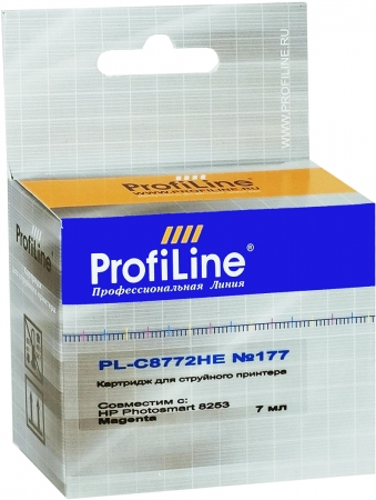 Картридж совместимый ProfiLine C8772HE №177 для HP пурпурный