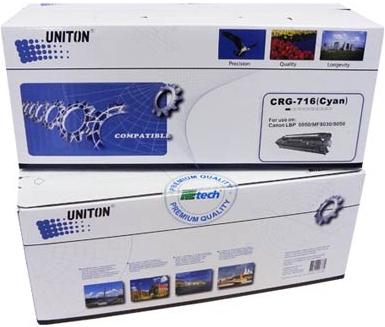 Картридж совместимый UNITON Premium Cartridge 716C голубой для Canon
