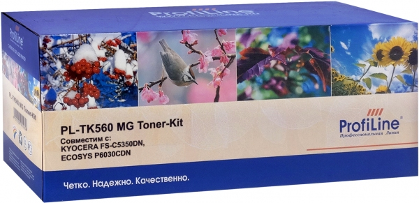 Тонер-кит Kyocera TK-560M Magenta ProfiLine (совместимый)