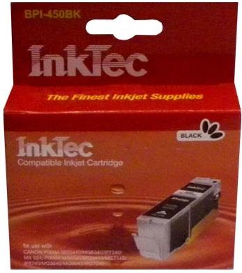 Картридж совместимый InkTec PGI-450XLPGBK черный для Canon