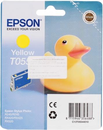 Картридж Epson T0554 (C13T05544010) желтый оригинальный