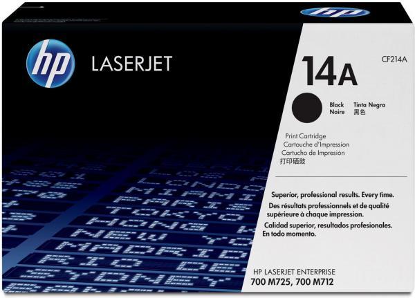Картридж HP CF214A черный оригинальный