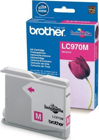 Картридж Brother LC970M пурпурный оригинальный