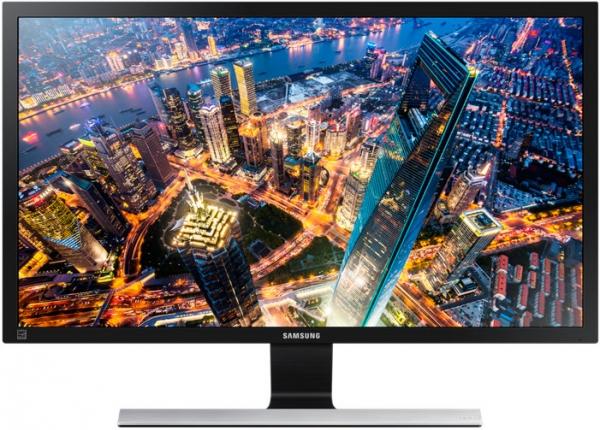 "Монитор 28"" Samsung U28E590D Glossy-Black/grey metallic"