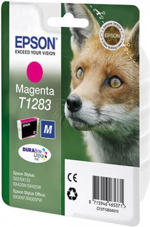 Картридж EPSON T12834010 пурпурный оригинальный