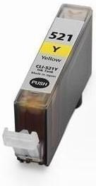 Картридж совместимый SuperFine CLI-521Y желтый для Canon