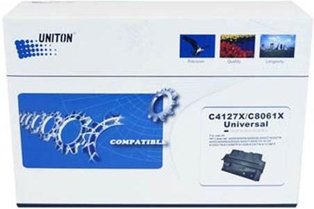 Картридж совместимый UNITON Premium C4127X/C8061X для HP