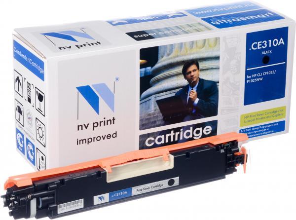 Картридж совместимый NV Print CE310A черный для HP