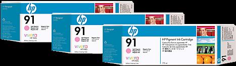 Картридж HP C9487A светло-пурпурный тройная упаковка оригинал