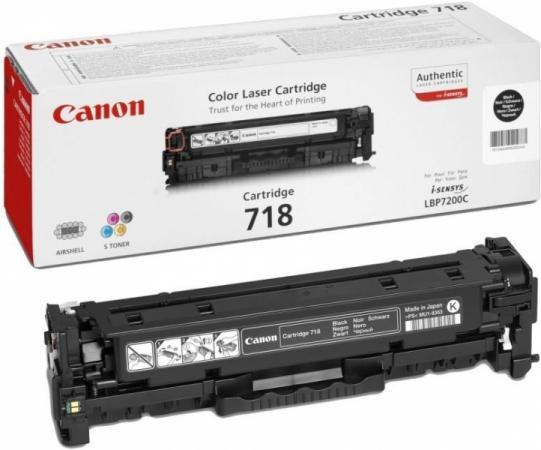 Картридж Canon CRG 718 черный совместимый NV Print