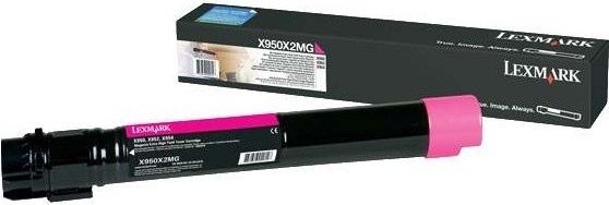 Картридж Lexmark X950X2MG пурпурный оригинальный