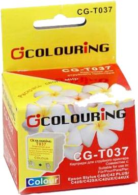 Картридж совместимый Colouring 037040 для Epson Stylus цветной