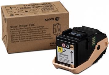 Картридж XEROX Phaser 106R02608 желтый оригинальный