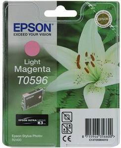 Картридж EPSON T059640 светло-пурпурный оригинальный