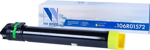 Картридж совместимый NVPrint 106R01572 для Xerox желтый