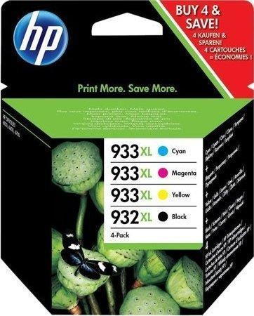 Картридж HP № 932XL/933XL четырехцветный оригинальный
