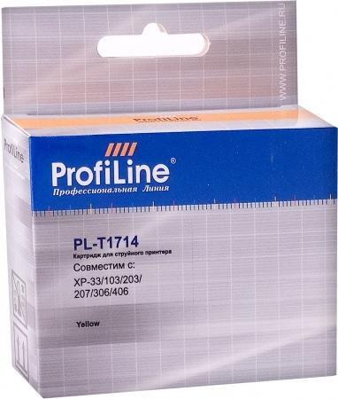 Картридж совместимый ProfiLine T1714 для EPSON желтый