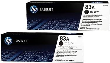 Картридж черный HP CF283AD (83A) двойная упаковка оригинальный