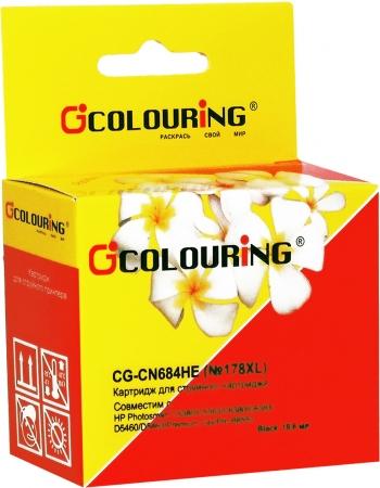 Картридж совместимый Colouring CN684HE/CB321HE №178XL для HP