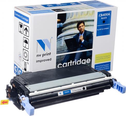 Картридж совместимый NV Print CB400A черный для HP