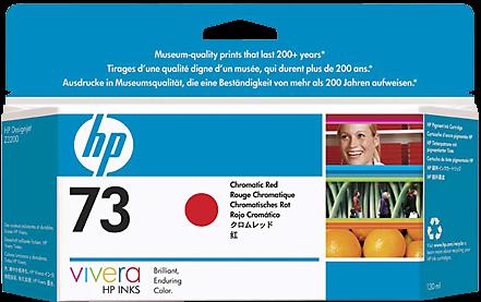 Картридж HP 73 красный оригинальный