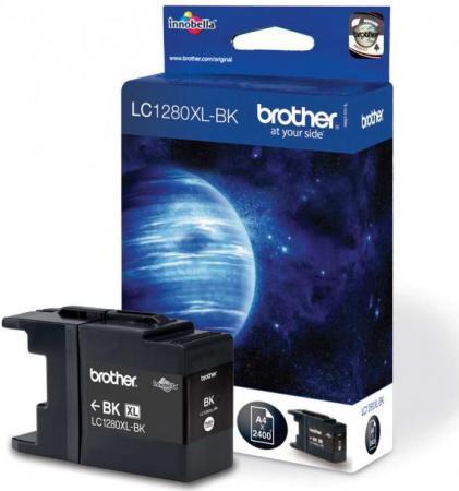 Картридж Brother LC1280XLBK черный оригинальный
