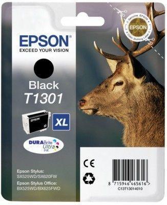 Картридж EPSON T13014010 черный оригинальный