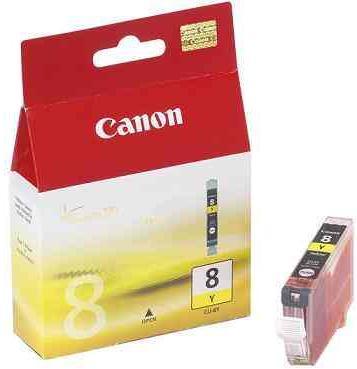 Картридж CANON CLI-8Y желтый оригинальный