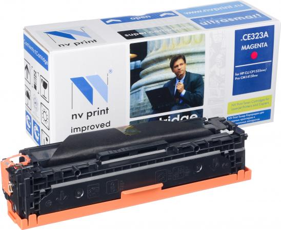 Картридж совместимый NV Print CE323A пурпурный для HP