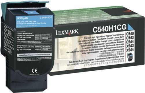 Картридж Lexmark C540H1CG голубой оригинальный