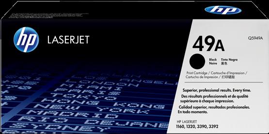Картридж HP Q5949A черный оригинальный