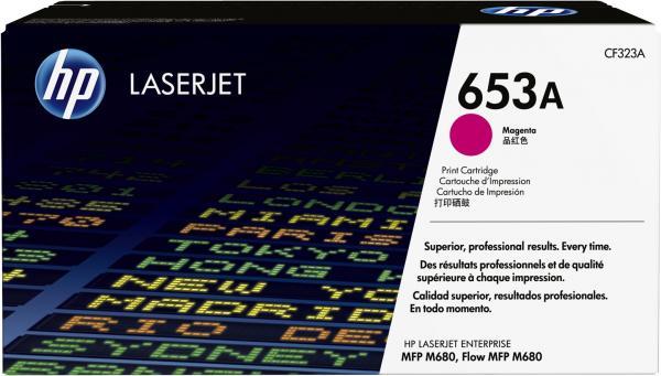 Картридж HP CF323A пурпурный оригинальный