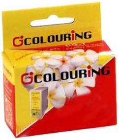 Картридж совместимый Colouring 0444 для Epson желтый