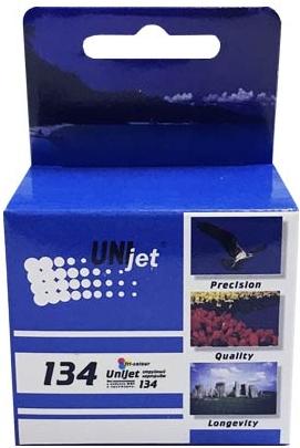 Картридж совместимый Unijet C9363 цветной (134) для HP