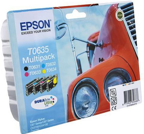 Картридж EPSON T06354A четырехцветный оригинальный
