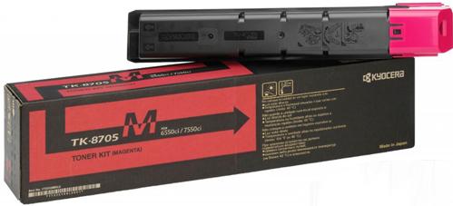 Картридж Kyocera TK-8705М пурпурный оригинальный