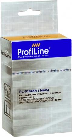 Картридж совместимый ProfiLine 51645AE №45 для HP
