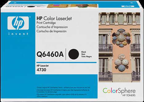 Картридж HP Q6460A черный оригинал