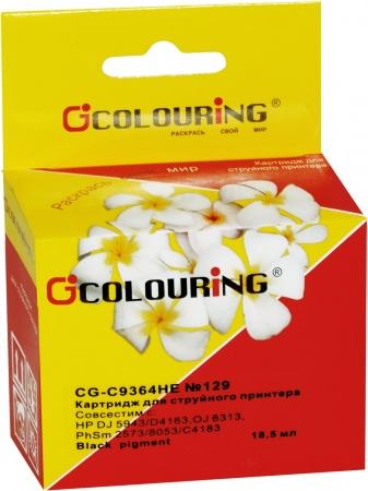 Картридж совместимый Colouring HE C9364HE №129 для HP черный