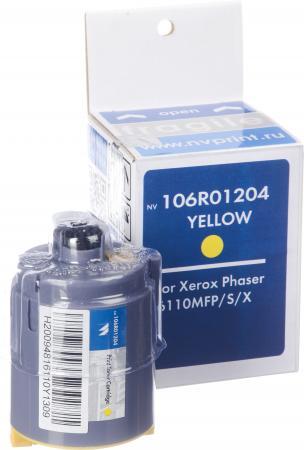 Картридж Xerox 106R01204 желтый совместимый NV Print