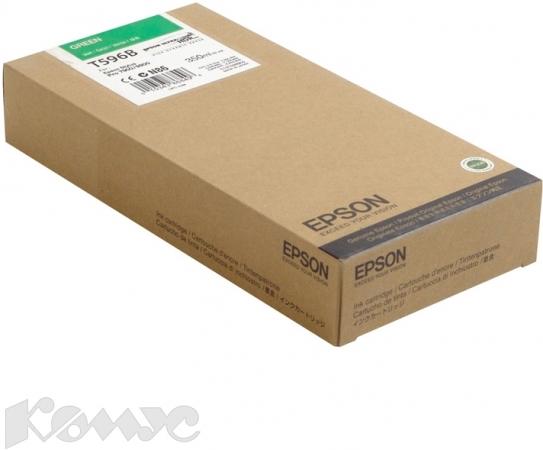 Картридж EPSON T596B00 зеленый оригинальный