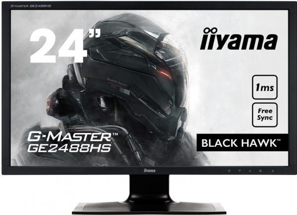 """Монитор 24"""" IIYAMA GE2488HS-B2 черный"""